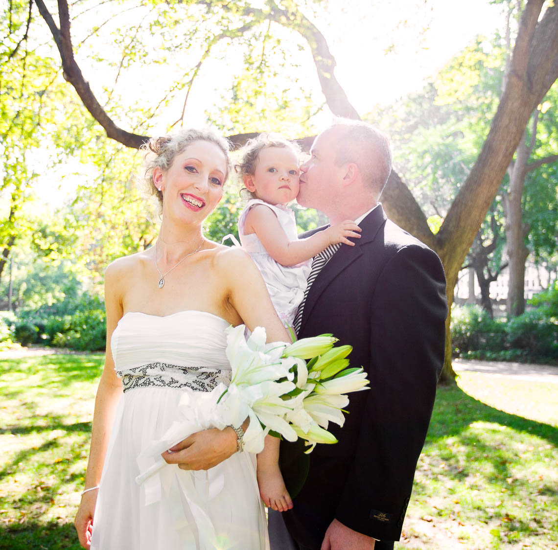 Spring Central Park Elope Wedding