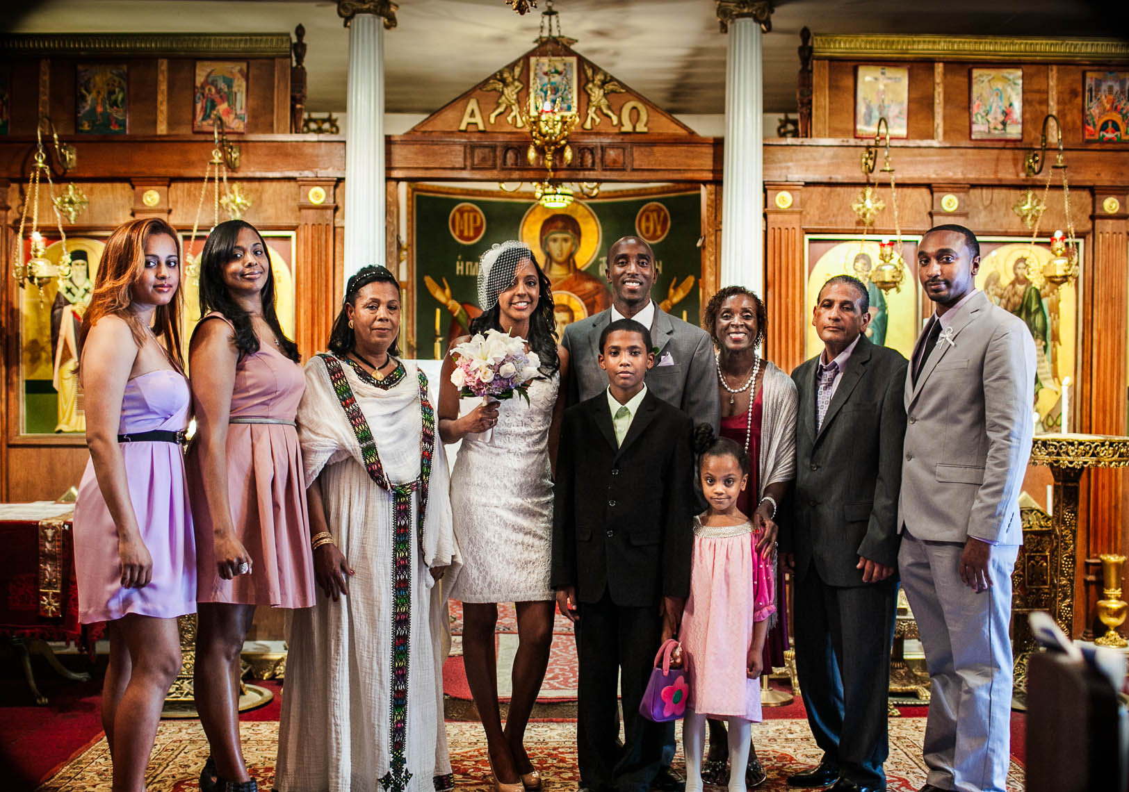 Bronx Greek Ethiopian Wedding